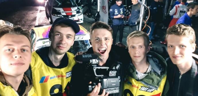 United To Race filmo komanda