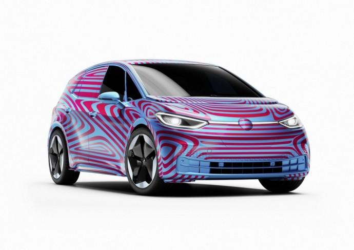 Elektrinis Volkswagen ID.3 hečbekas