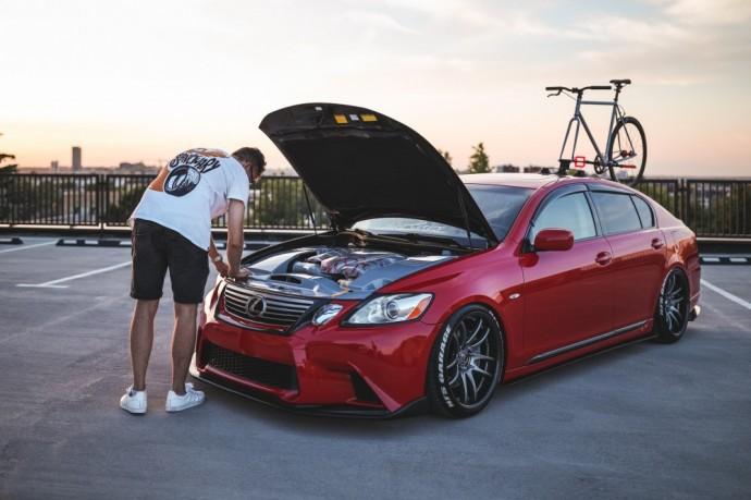 Andžėjaus modifikuotas Lexus GS