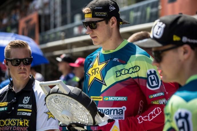 Akimirka iš Pasaulio motokroso čempionato