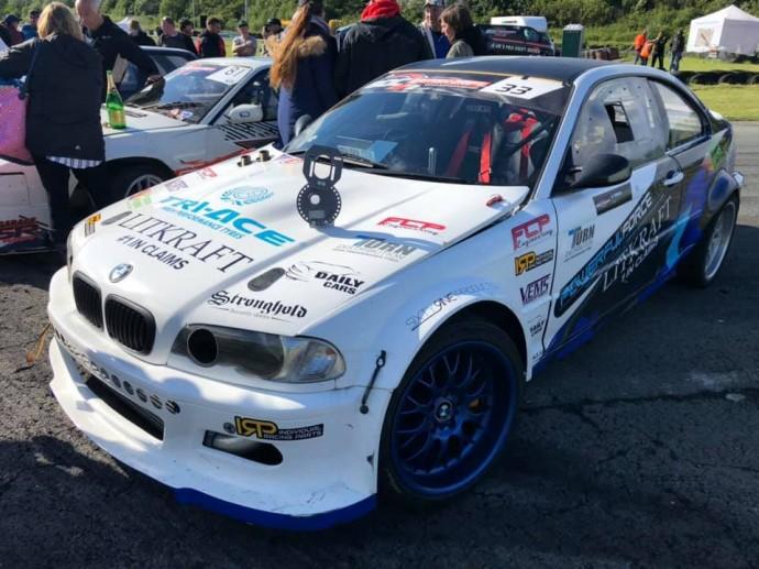 Aurimas Vaškelis D.Britanijos drifto čempionate