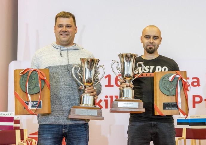 Andrėjus Pavlovas ir Gintaras Kaminskas