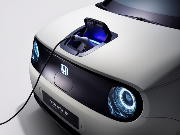 Honda E elektromobilis