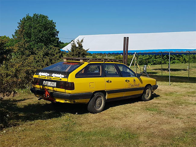 Audi 100 - mobili pirtis