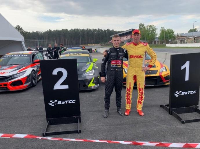 Julius Adomavičius TCR lenktynėse