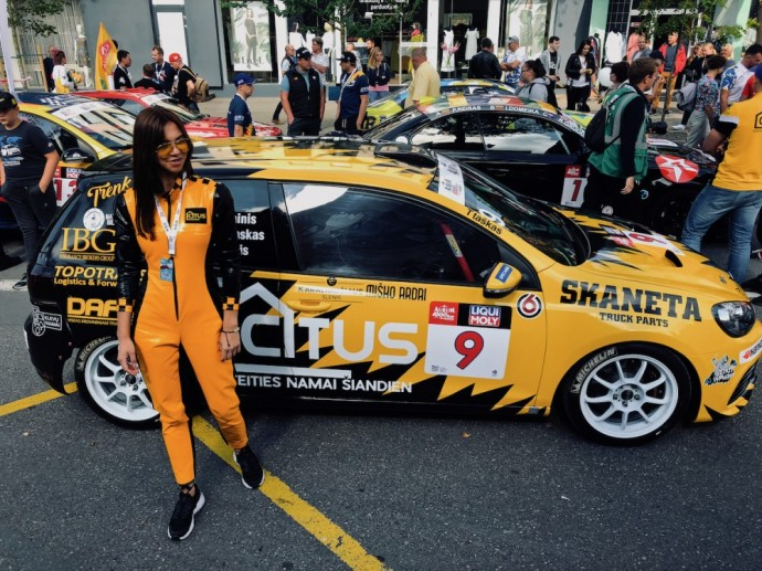 Citus Racing komandos automobilis – Volkswagen Golf