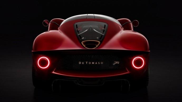 Naujasis De Tomaso P72