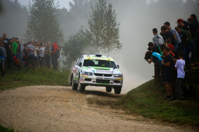 Akimirka iš Rally Elektrėnai 2018