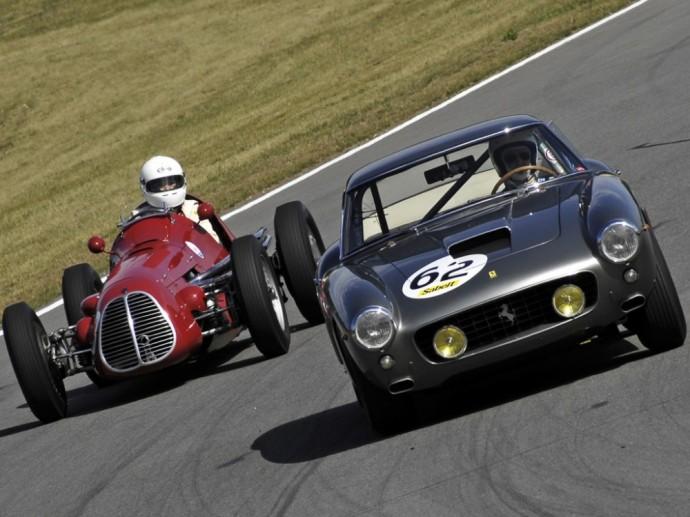 Maserati ir Ferrari
