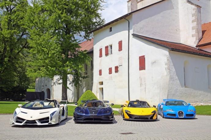 Lamborghini Veneno Roadster, Koenigsegg, McLaren