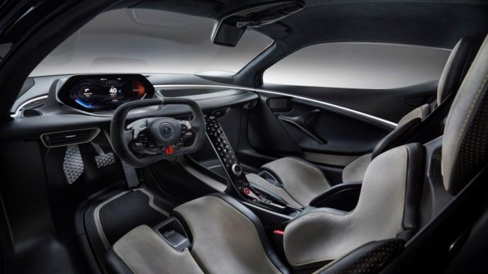 Lotus Evija elektromobilis