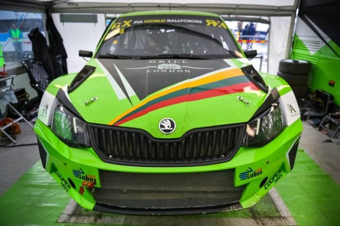 ES Motorsport Škoda Fabia