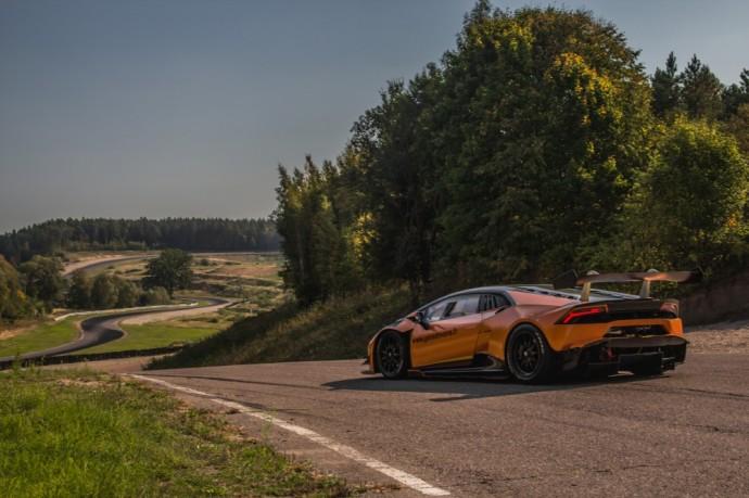 Gera dovana Lamborghini Huracan Super Trofeo GT