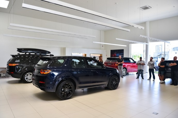 Atnaujintas Land Rover Discovery Sport