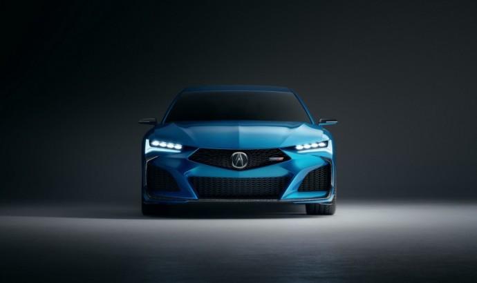 """""""Acura Type S"""" konceptas"""