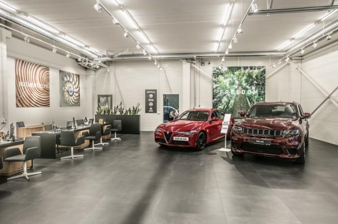 Autobrava Motors salonas Kaune