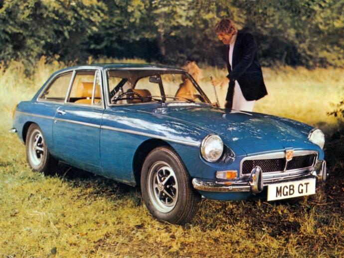MGB GT '1973–75