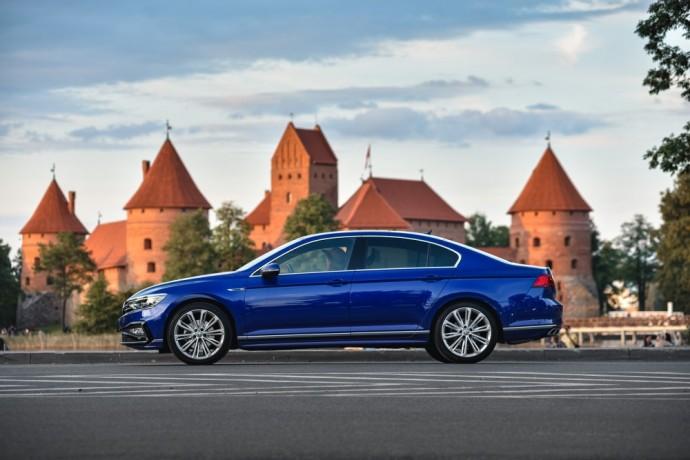Atnaujintas Volkswagen Passat