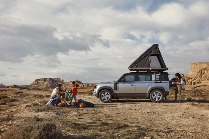 Naujos kartos Land Rover Defender
