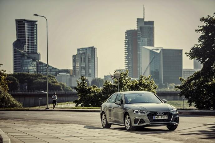 Atnaujinta Audi A4
