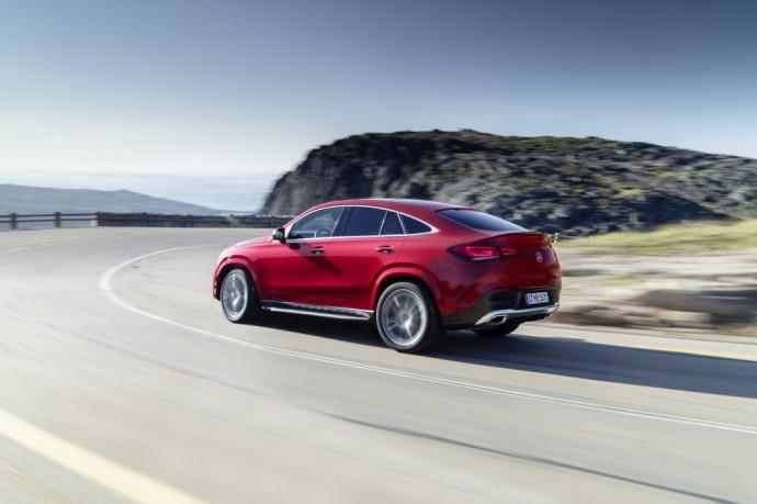 Naujos kartos Mercedes-Benz GLE Coupé