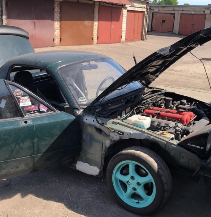 Mindaugo modifikuota Mazda MX-5
