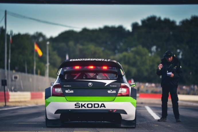 Škoda Fabia WRX