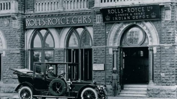 Rolls-Royce gamykla