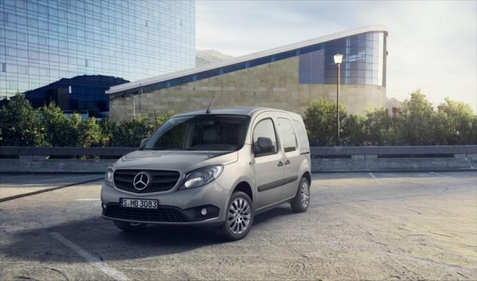 Atnaujintas Mercedes-Benz Citan Tourer