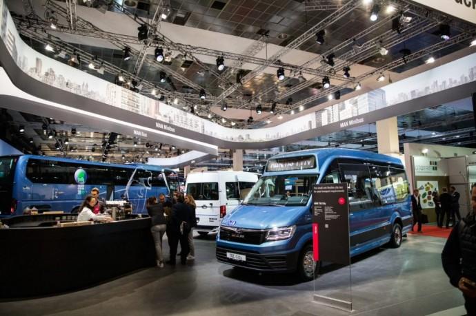 Altas Auto Busworld Europe parodoje