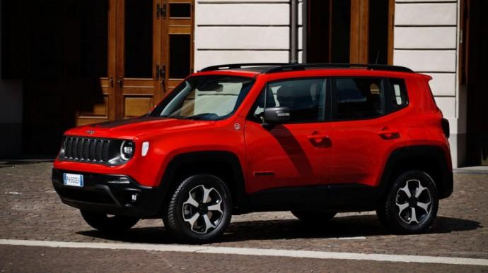 Hibridinis Jeep Renegade