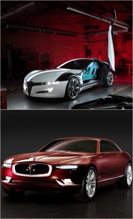 Alfa Romeo Pandion ir Jaguar B99