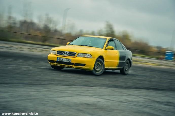 Galu varoma Audi A4