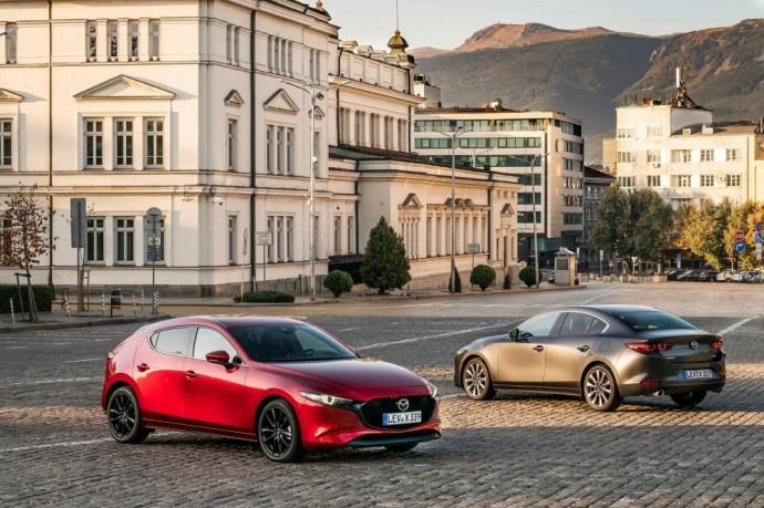 Naujos kartos Mazda 3 Skyactiv-X
