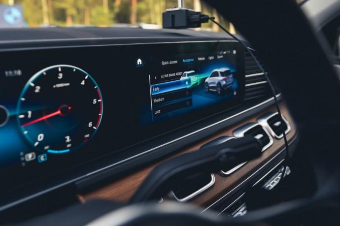 Stabdymo sistemų bandymai Lietuvos metų automobilio 2020 rinkimuose
