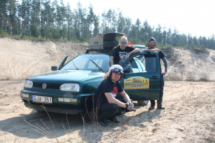 Green Metal Lietuva ekipažas