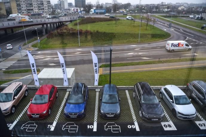 Autojuta salonas Vilniuje