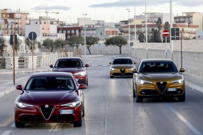 Atnaujinti Alfa Romeo Stelvio ir Giulia