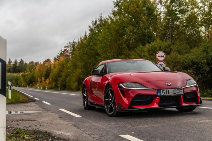 Naujos kartos Toyota Supra testas