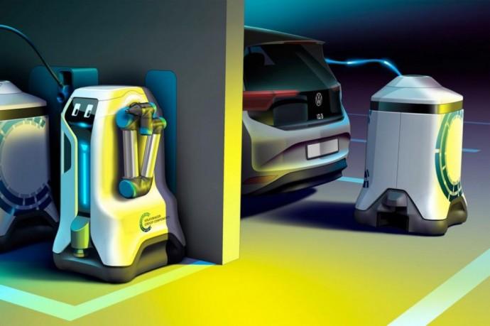 Volkswagen robotas