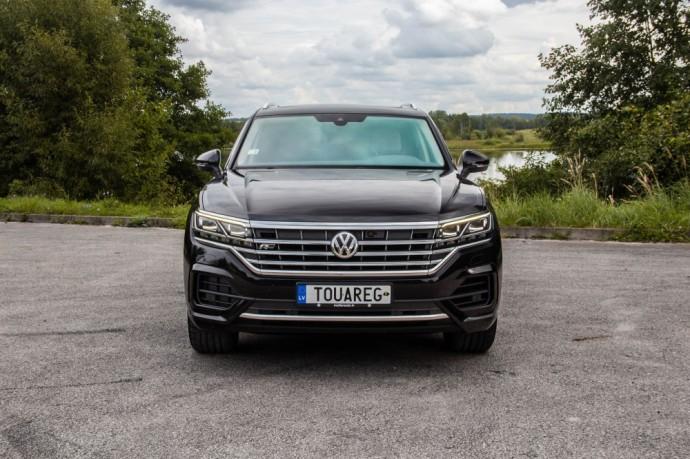 Volkswagen Touareg testas