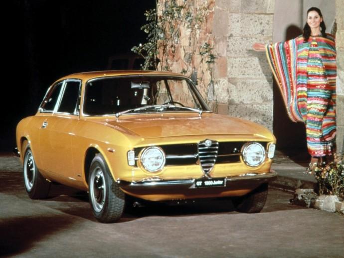 Septintame dešimtmetyje sukurtas Alfa Romeo GT 1300 Junior