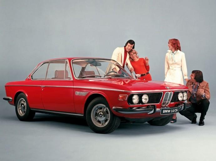 Klasika tapęs BMW 3.0 CSi kupė