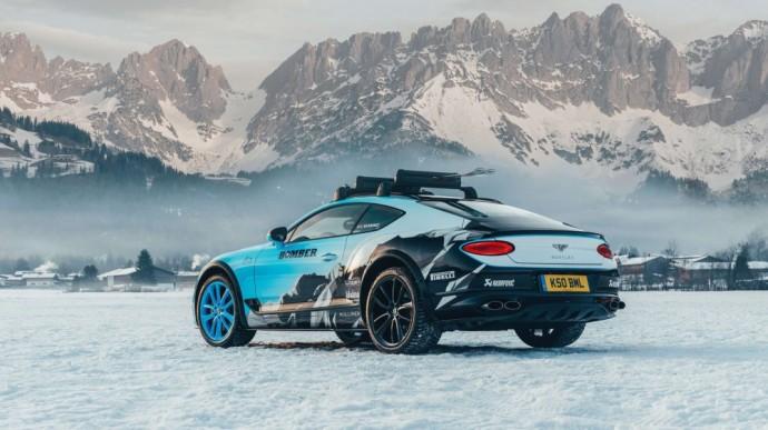 Lenktynėms paruoštas Bentley Continental GT
