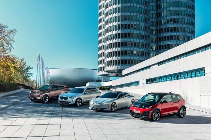 Elektrifikuotų BMW modelių gama
