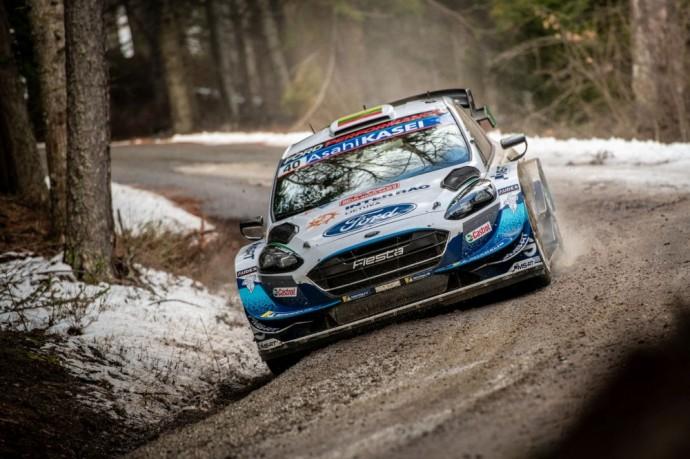 Deivido Jociaus vairuojama Ford Fiesta WRC