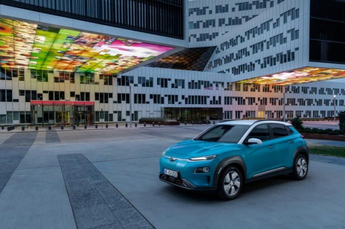 Hyundai Kona EV elektromobilis