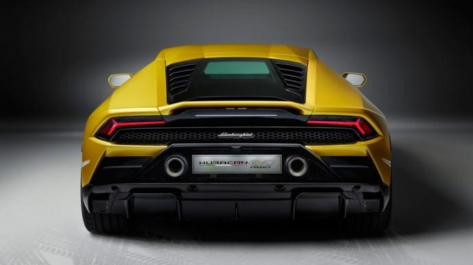Galiniais ratais varomas Lamborghini Huracan Evo