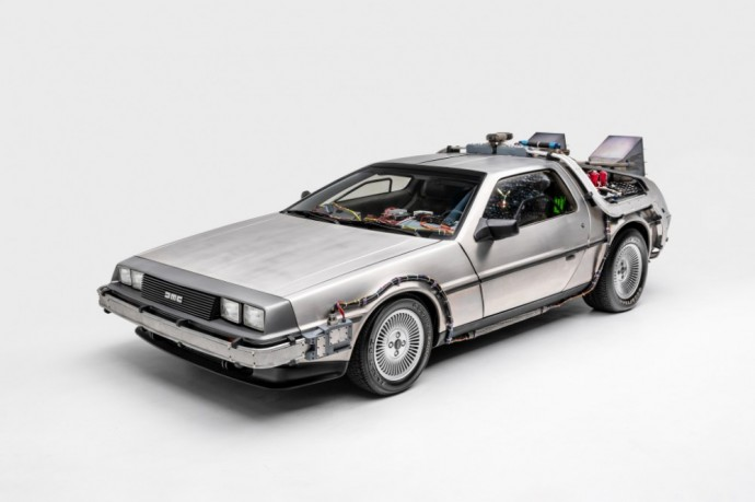 """Back To The Future"" filmavęsis DeLorean DMC-12"