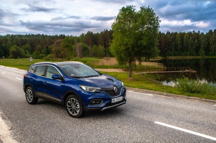 Atnaujinto Renault Kadjaro testas